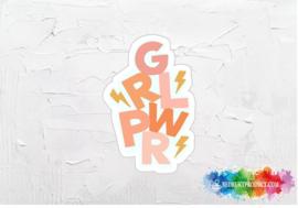Grlpwr sticker