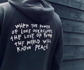 """Hoodie  """"Power of love"""""""