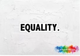 Equality sticker