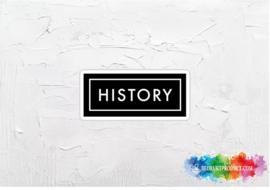 History 2 sticker