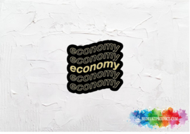 Economy sticker