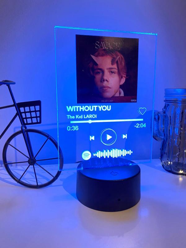 Spotify led-lamp