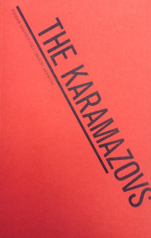 Theatre text 'The Karamazovs' - ENG