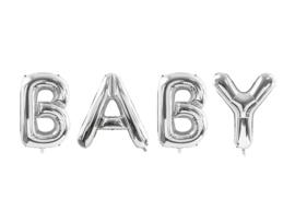 Folieballon letters baby XXL (2.62 meter x 86cm)