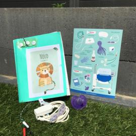 Neonatologie stickers (vel 1)
