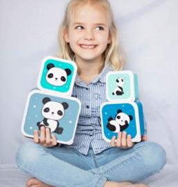 Panda trommelset (4 stuks)