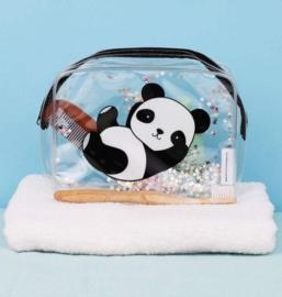 Panda toilettas met glitters en sterren