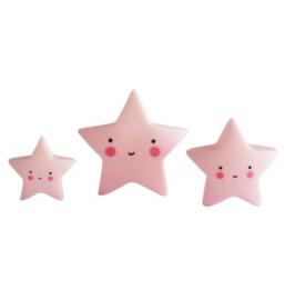 Mini's sterren roze