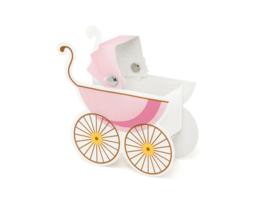 Kinderwagen roze doosjes (10 st)