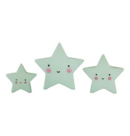 Mini's sterren groen