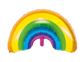 Folieballon regenboog