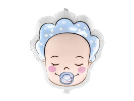 Folieballon baby (jongen) 40x45cm