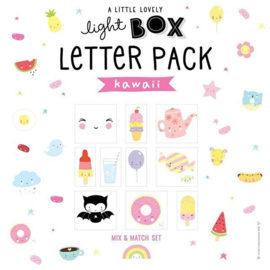 48 illustraties voor de lichtbox