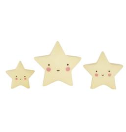 Mini's sterren geel