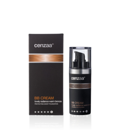Cenzaa BB Cream Lovely Radiance Warm Bronze