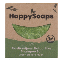 HappySoaps Shampoo Bar Aloë You Vera Much
