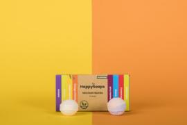 HappySoaps Mini Bath Bombs Herbal Tropical Fruits