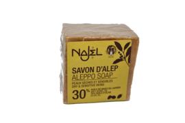 Aleppo Olijfzeep 30 % Olijfolie 170 gr