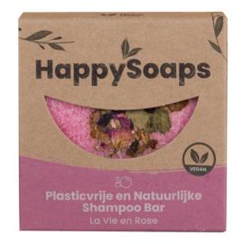 HappySoaps La Vie en Rose Shampoo Bar