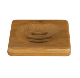HappySoaps Zeephouder van Bamboe voor één Shampoo Bar