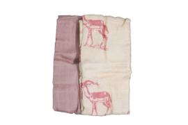 MaeMae Hydrofieledoeken Misty Rose - Pink Animal
