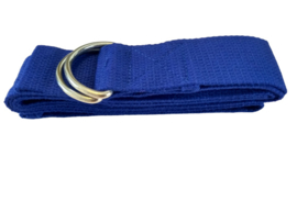 Yoga riem blauw