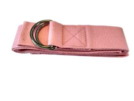 Yoga riem roze