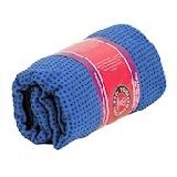 Yoga mat handdoek Anti-slip Blauw
