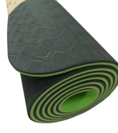 eco-friendly yoga mat TPE (6mm)