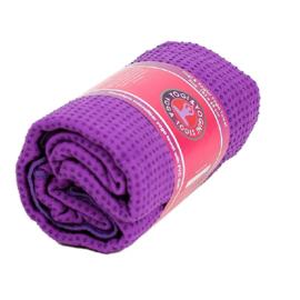 Yoga mat handdoek Anti-slip Paars