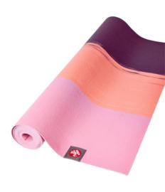 Manduka Eko Super Lite yogamat - Fuchsia stripe