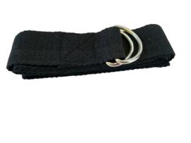 Yoga riem zwart