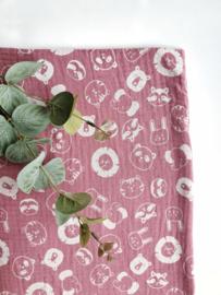 Monddoekjes beestenboel roze 2-pack