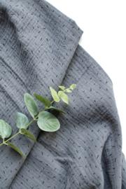 Sprinkels grijsblauw