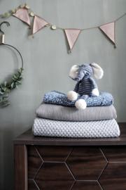 Beren deken licht grijs