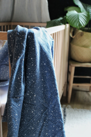 Hydrofiel doek Dazzling Dots indigo