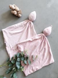 Cuddle slaapdoekje roze