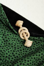 Deken Pebbles groen