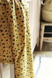 Hydrofiel doek panter oker geel