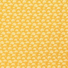 Regenboog oker geel