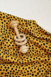 Deken Pebbles geel