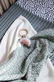 Knitted deken Offwhite