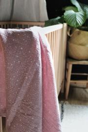 Hydrofiel doek Dazzling Dots licht roze