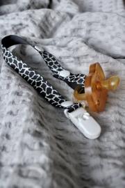 Speenkoord giraf zwart