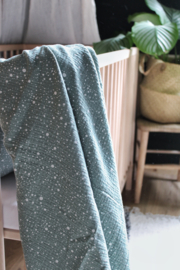Hydrofiel doek Dazzling Dots mint