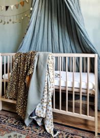 Luipaard deken gemêleerd