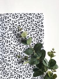 Monddoekjes luipaard wit 2-pack