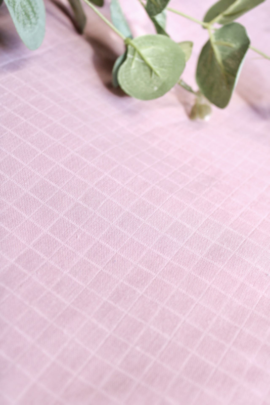 Hydrofiel doek spinacker licht oud roze