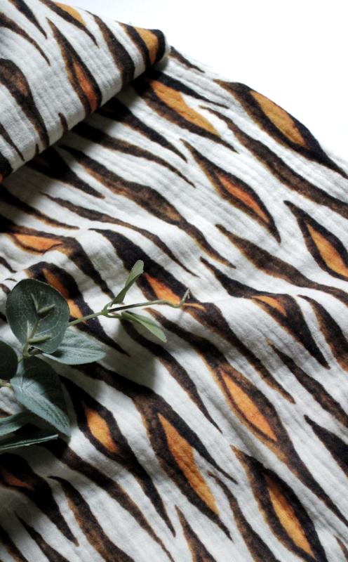 Hydrofiel doek Tiger