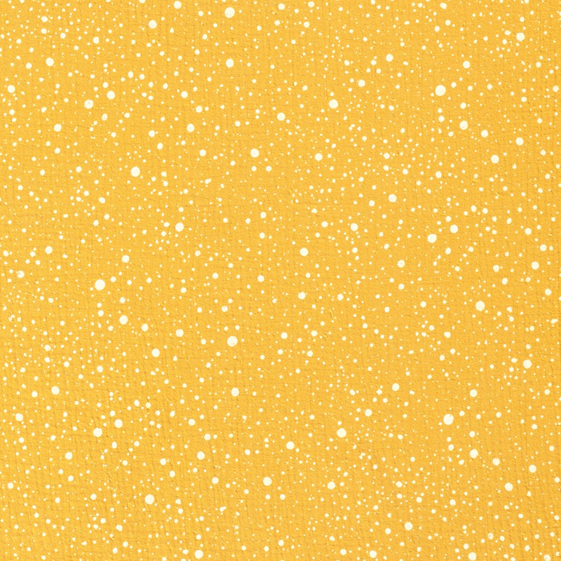 Dazzling Dots oker geel